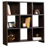 Sauder 413047 Beginnings 9-Cubby Storage Organizer in Cinnamon Cherry Finish