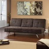 Sauder 413195 Hunter Sofa Microfiber +L Chocolate Cc-2