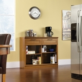 Sauder 413319 Homeplus Console in Sienna Oak Finish