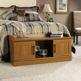 Sauder 413320 Homeplus Bench in Sienna Oak Finish