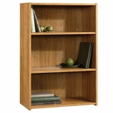 Sauder 413322 Beginnings 3-Shelf Bookcase in Highland Oak Finish