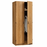Sauder 413327 Beginnings Storage Cabinet in Highland Oak Finish