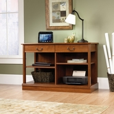 Sauder 413666 Smartcenter in Shaker Cherry Finish