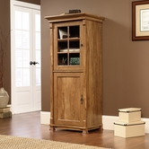 Sauder 413669 French Mills Smartcenter Cabinet in American Chestnut Finish