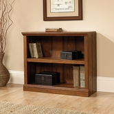 Sauder 413792 2 Shelf Bookcase In Washington Cherry Finish