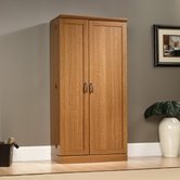 Sauder 414187 Storage Cabinet in Sienna Oak Finish