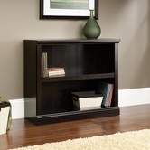 Sauder 414237 2 Shelf Bookcase In Estate Black Finish