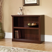 Sauder 414238 2 Shelf Bookcase in Select Cherry Finish
