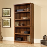 Sauder 414356 5 Shelf Bookcase In Washington Cherry Finish