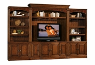 Sligh Furniture 165NP-640-641-645 TV Console and Deck with Bookcases