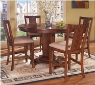 Somerton 140-68B-68T-38 Runway Counter Height Dining Set