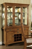 Somerton 417-71-72 Craftsman Hutch and Buffet
