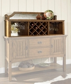 Somerton 417-73H Craftsman Dining Server Hutch