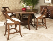 Somerton 422-68B-68T-38 Gatsby Counter Height Dining Set