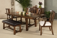 Somerton 425-62B-62T-36 Dakota Dining Set