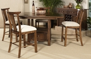Somerton 425-69B-69T-38 Dakota Counter Height Dining Set