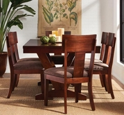 Somerton 431-62-33 Studio Trestle-Table-Side-Chair Dining Set