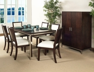 Somerton 432-64-33 Soho Leg-Table-Side-Chair Dining Set