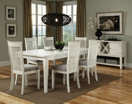 STANDARD 12021-24 REGENCY WHITE Casual Dining Set