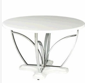STANDARD 12361 TABLE, ROUND PEDESTAL