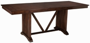 "Standard 13636 Artisan Loft Table,Counter Height W/18"" Lea"