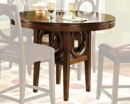 STANDARD 13876 TABLE, ROUND COUNTER HEIGHT