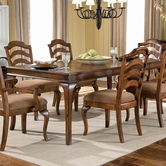 "STANDARD 13981 CROSSROAD TABLE, LEG W/18"" LEAF"