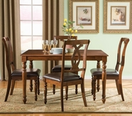 STANDARD 14542 GATSBY TABLE,LEG & FOUR CHAIRS SET
