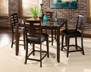 STANDARD 16856-55 BELLA Counter Height Dining Set