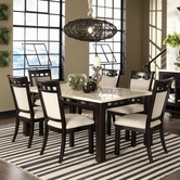 STANDARD 17461-64 GATEWAY WHITE RECTANGLE Casual Dining Set