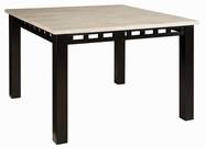 Standard 17471 Gateway White Table, Coutner Height