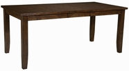 "Standard 18931 Abaco Table,Counter Ht Leg W/18"" Lea"