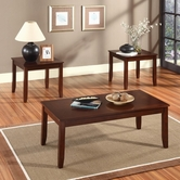STANDARD 21183 BRANTLEY TABLE,3-PACK ONLY - DARK