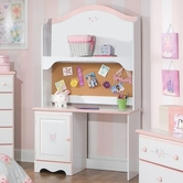STANDARD 59714-15 SWEET DREAMS STUDENT DESK AND HUTCH