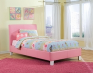 STANDARD 60752-62 FANTASIA Full Upholstered Youth Bed PINK