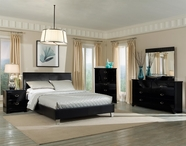 STANDARD 64400 MERIDIAN BLACK Bedroom Set