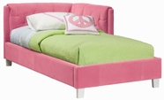 STANDARD 64651-52 MY ROOM Full Platform Upholstered Bed PINK