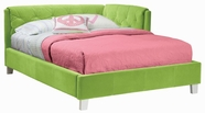 STANDARD 64661-62 MY ROOM Full Platform Upholstered Bed GREEN