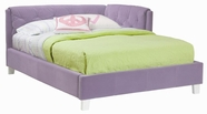 STANDARD 64671-72 MY ROOM Full Platform Upholstered Bed LAVENDER