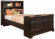 STANDARD 66372-73-60-71 HIDEOUT Full Storage Bed with Slat Roll