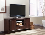 "STANDARD 67473 PREMIER ENT UNIT, 60"" MERLOT COLOR"