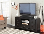 "STANDARD 67474 PREMIER ENT UNIT, 60"" BLACK COLOR"