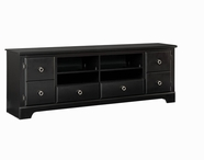 "STANDARD 67484 PREMIER ENT UNIT, 72"" BLACK COLOR"