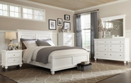 STANDARD 85900 ESSEX WHITE (WHSE) Bedroom Set