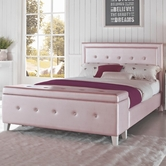 STANDARD 99400 CELINE Upholstered Pink Full Bed