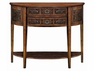 Stein World 11480 Castille Demilune Table
