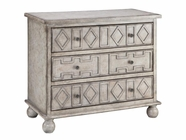 Stein World 12033 SALVO 3-DRAWER GREY CHEST