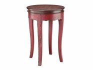 Stein World 12036 GLORIANNA RED ACCENT TABLE