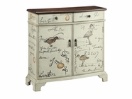 Stein World 12154 SAND SCRIPT 2-DOOR 2-DRAWER CHEST