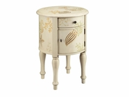 Stein World 12158 COVE 1-DOOR 1-DRAWER ACCENT TABLE